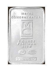 1oz Platinum 999.9