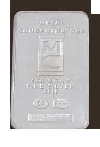 100gr Fine Silver 99.9